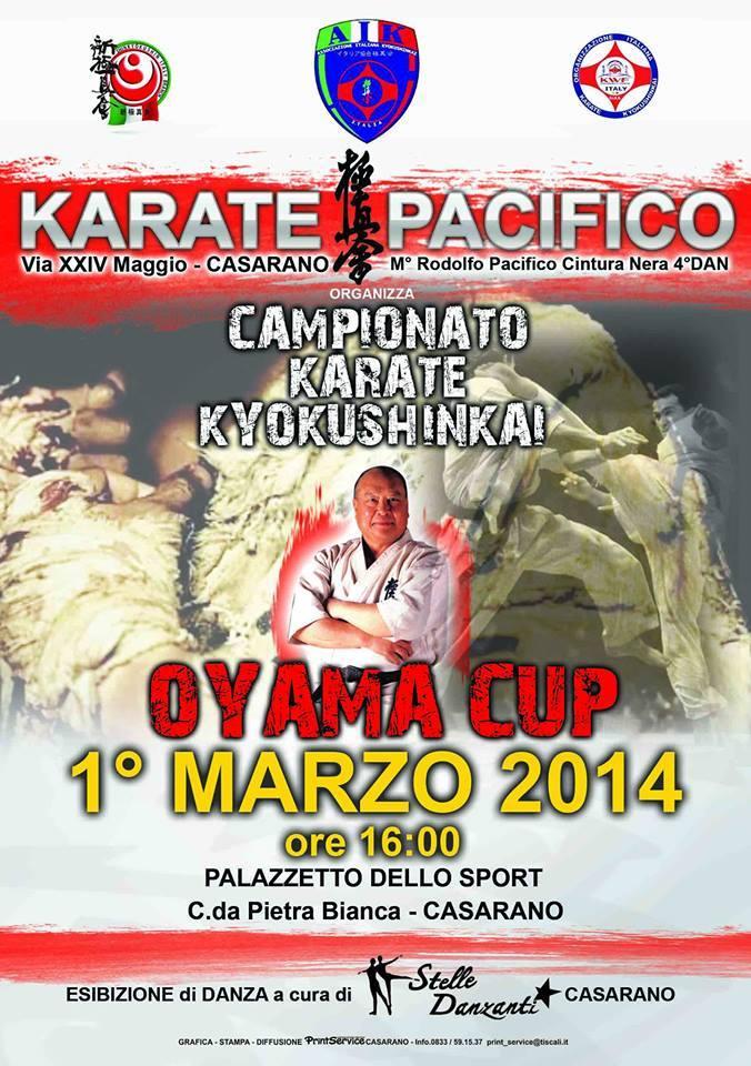 oyama cup Casarano